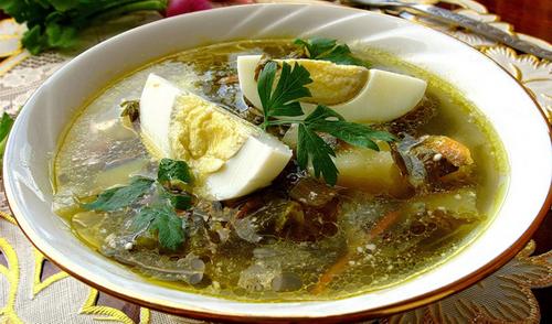 Суп из щавеля «Весна» | Домашний Ресторан