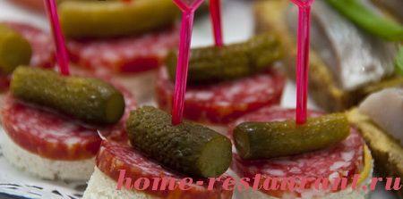 Канапе с оливками сыра рецепты 4