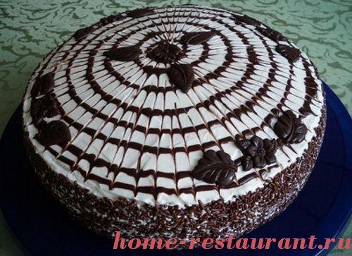 450Как красиво украсить торт наполеон в домашних условиях пошагово