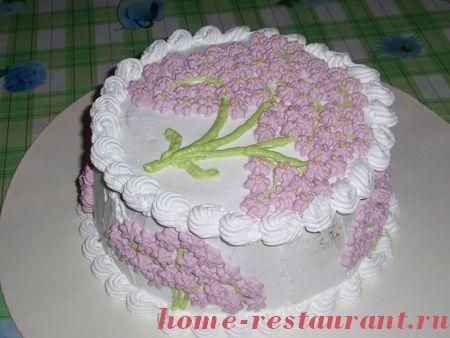 Как в домашних условиях украсить торт белковым кремом - Волга Климат