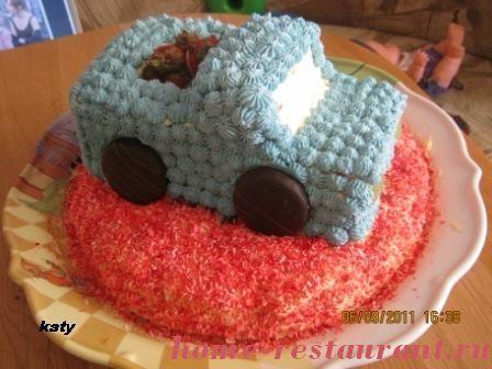 Украшение торта для мальчика фото в домашних условиях