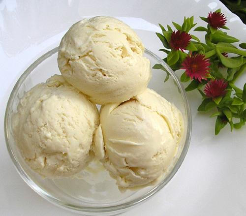 рецепт мороженого со сгущенкой