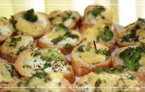 рецепты хрустящих бутербродов