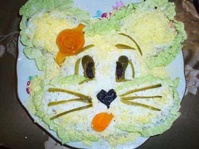 Все рецепты детских салатов
