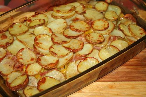 как приготовить картошку в духовке с овощами
