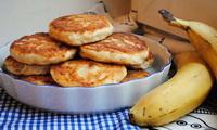 сырники с бананом и курагой