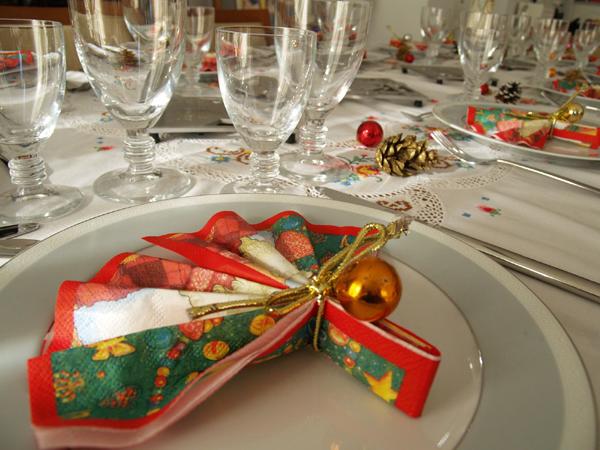 Как сделать стол новогодним