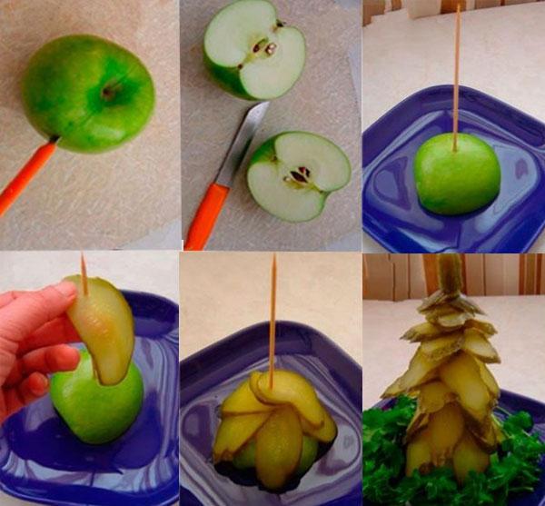 Из чего можно сделать поделки фрукты 788