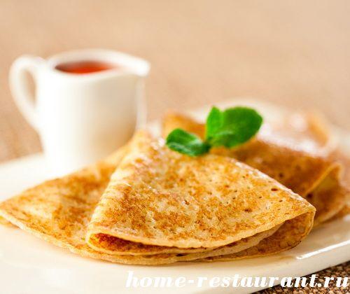 Рецепты теста для блинов - Домашний Ресторан