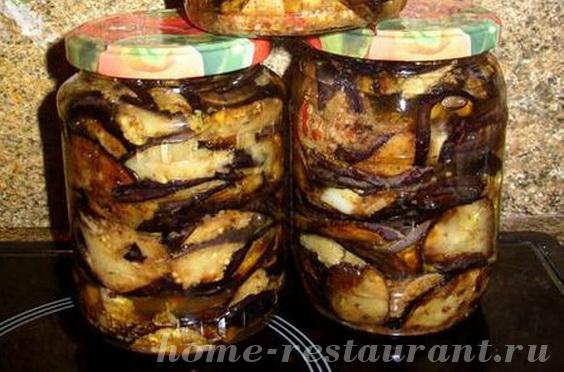 баклажаны острые на зиму рецепты с фото