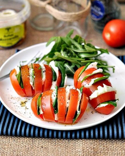 """Фаршированные помидоры """"Капрезе"""""""