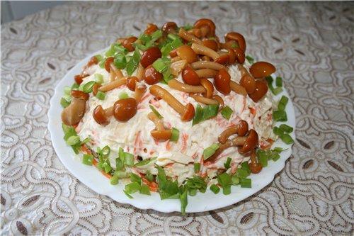 Новые вкусные салаты рецепты салатов праздничные
