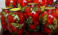 Заготовки на зиму из помидор