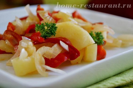 Салат с перцем В яблочко фото 15