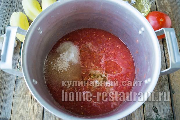 салат из огурцов на зиму в томатной заливке_3
