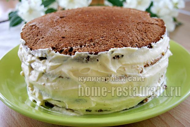 Торт сметанник рецепт с фото пошагово