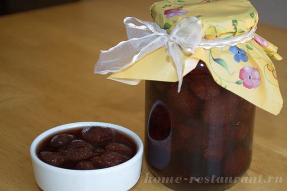 клубничное варенье рецепт