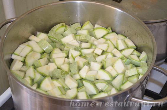 как заморозить кабачки