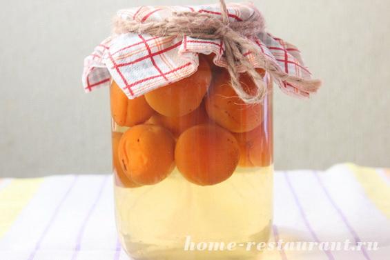 Компот из абрикосов на зиму на зиму