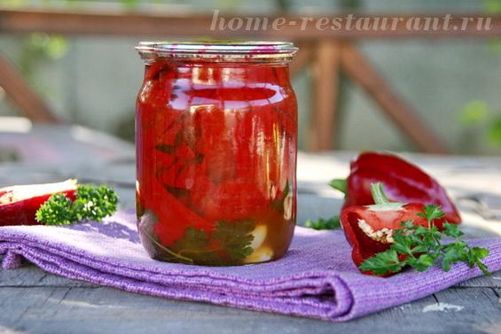консервирование болгарского перца на зиму