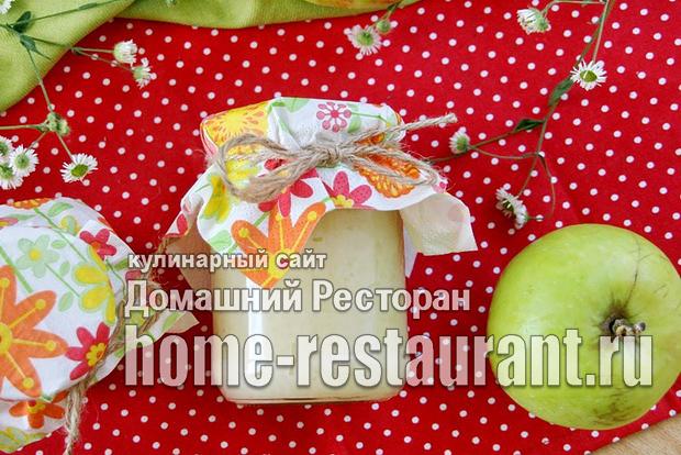 Яблочное пюре со сгущенкой на зиму фото_04