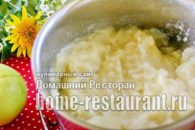 Как сделать яблочное пюре без сахара 5