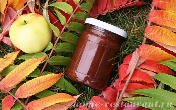 яблочное повидло с шоколадом фото 4