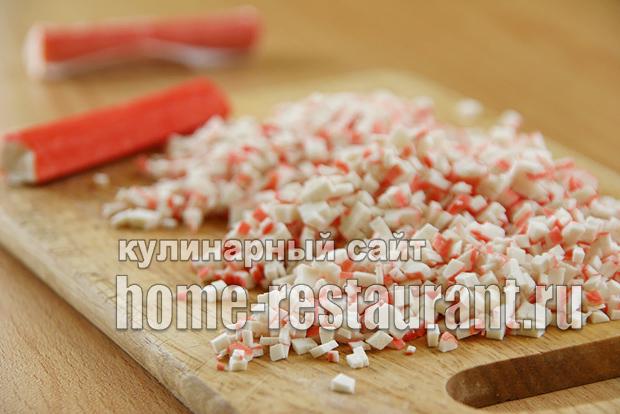 Лаваш с крабовыми палочками и плавленым сыром_14
