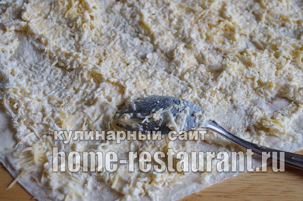Рулет из лаваша с сыром «Белочка»_06