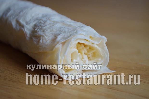 Рулет из лаваша с сыром «Белочка»_08