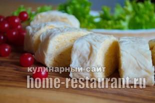 Рулет из лаваша с сыром «Белочка»_10