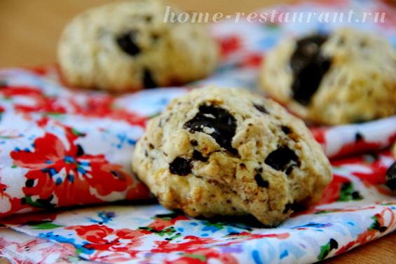 овсяное печенье с шоколадом фото 5