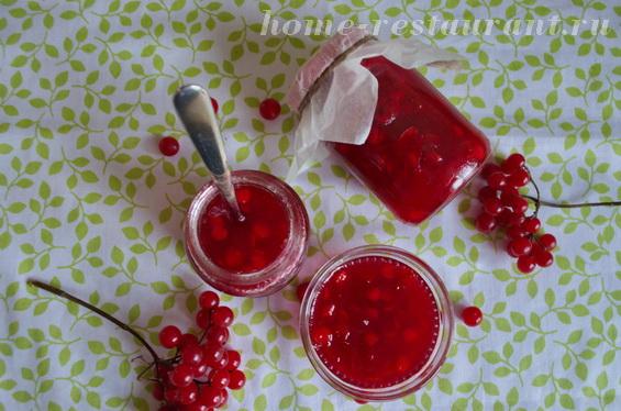 Калина с сахаром на зиму: рецепт с фото