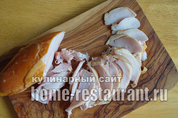 Лаваш с начинкой с грибами и сыром_01