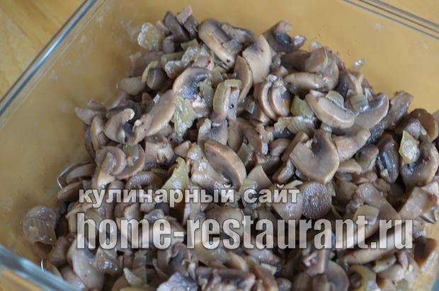 Лаваш с начинкой с грибами и сыром_03