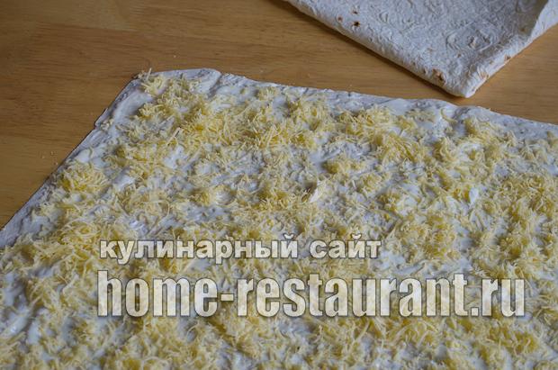 Лаваш с начинкой с грибами и сыром_05