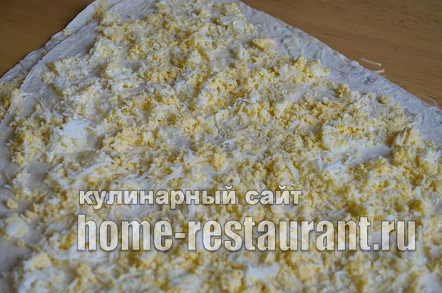 Лаваш с начинкой со шпротами и сыром_18