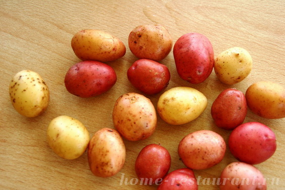картошка с базиликом фото 1