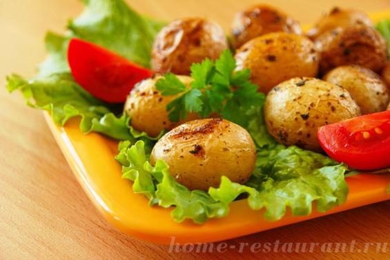 картошка с базиликом фото 10