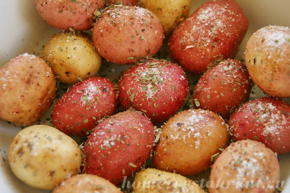 картошка с базиликом фото 2