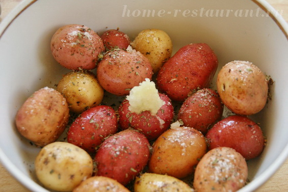картошка с базиликом фото 3