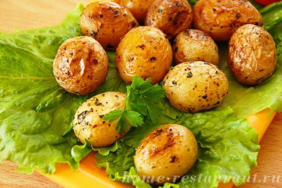 картошка с базиликом фото 9