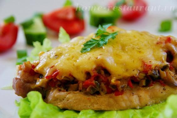 Мясо по-французски с помидорами 83
