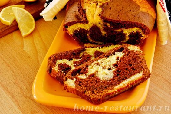 лимонно-шоколадный кекс фото 17
