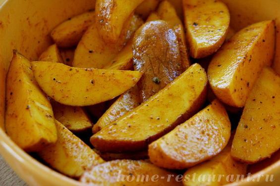 Запекание картофеля в духовке