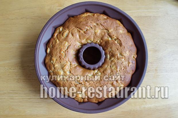 Пирог с яблоками фото_13
