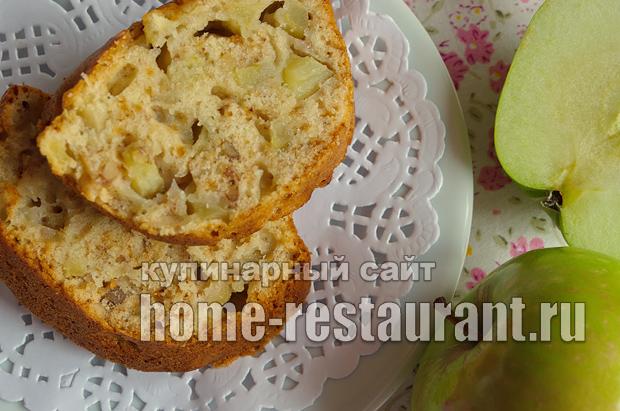 Пирог с яблоками фото_16