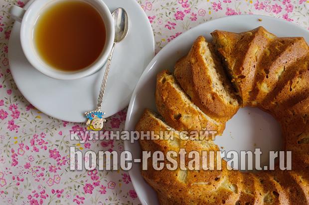 Пирог с яблоками фото_18