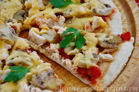 пицца рецепт в домашних условиях в духовке ютуб