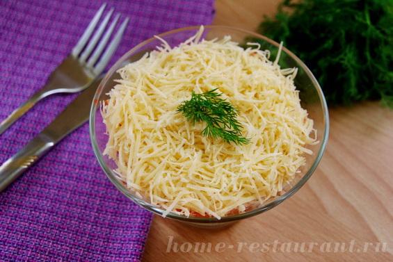 салат с крабовыми палочками и кукурузой фото 20